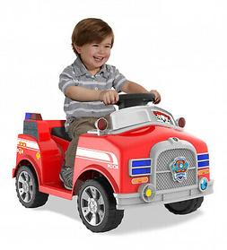 6 Volt Paw Patrol Marshall Quad Ride On Toy Toddlers Sounds