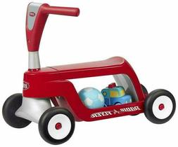 Radio Flyer 615 Scoot 2 Scooter 4 Wheels Ride-On - Red Box s