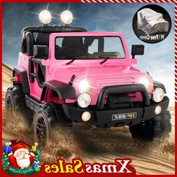 12V Electric Kids Ride On Truck Car Toy Battery 3 Speed MP3