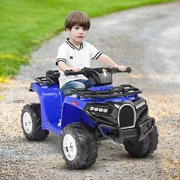 6V Electric Kids Ride On ATV Quad 4 Wheels Toy Car Led Light