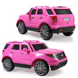 6V Electric Kids Ride On Car Play Toy Pink w/ Remote Control
