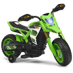 6V Electric Kids Ride-On Motorcycle Battery Powered Bike w/T