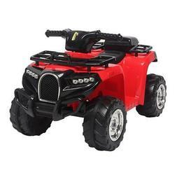 6V Electric Kids Ride On Toy ATV Car Quad 4 Wheels Toys Led