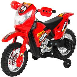 6V Kids Electric Battery Powered Ride-On Motorcycle Dirt Bik
