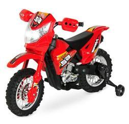 6V Kids Electric Battery Powered Ride-On Motorcycle Dirt Bik