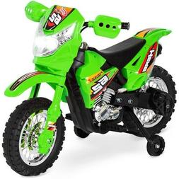 6V Kids Electric Battery-Powered Ride-On Toy Motorcycle Dirt