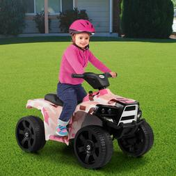 Electric Car Kids Ride On ATV Quad 6V Battery Powered 4-Whee