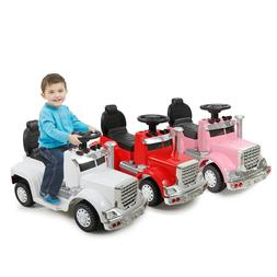 6V Kids Ride On Car With Toddler Drive-able Licensed MP3 LED