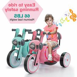6v kids ride on electric wheel bicycle