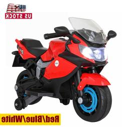 6V Kids Ride On Motorcycle ElectricTricycle Battery Powered