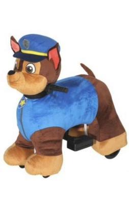 Paw Patrol 6v Plush Chase Ride-on