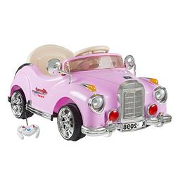 Lil' Rider Ride On Toy Car, Battery Powered Classic Car Coup