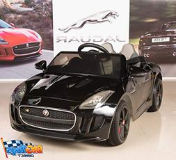 BIG TOYS DIRECT Jaguar F-TYPE 12V Kids Ride On Battery Power