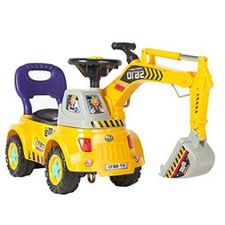 Best Choice Products Kids Pretend Play Excavator Constructio