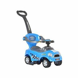 Best Ride On Cars Mini 3 in 1 Push Car, Blue