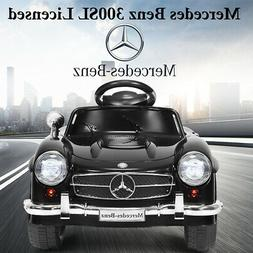 Giantex Black Mercedes Benz 300sl AMG Rc Electric Toy Kids B