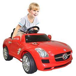 Goplus Kids Ride on Car Drivable Mercedes Benz Electric/ Bat