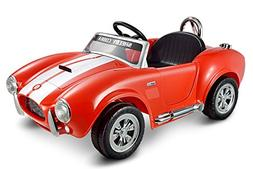 Kid Motorz 12V Shelby Cobra One Seater Ride On, Red