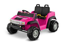 Kid Motorz Hummer H2 Two Seater 12V, Pink