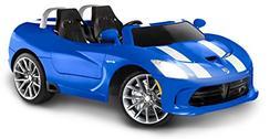 Kid Trax Dodge Viper SRT 12V Battery-Powered Ride-On Toy