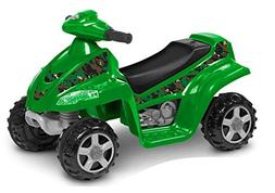 Kid Trax Moto Trax 6V Toddler Quad Ride On, Green