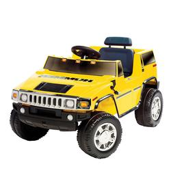 National Products 6V Yellow Hummer H2 Battery Operated Ride-