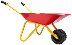 PlaSmart Little Workers Wheelbarrow Ride On Toy, Age 3 yrs a