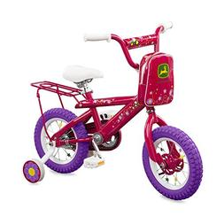 "TOMY John Deere 12"" Bicycle Pink"