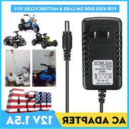 AC/DC Adapter 12V 1A Battery Charger  F/ Kids ATV Quad Ride
