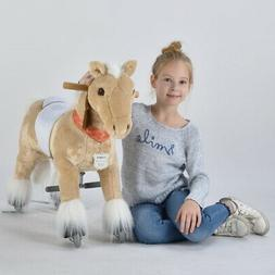 UFREE Action Pony Ride on horse with braids, Small Size, Pre