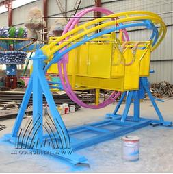 Amusment Theme Park Rides 2 Person Sitting Type Double Ring