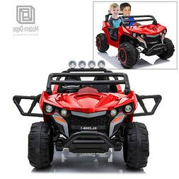 ATV Truck 12V Kid Ride On Car 2 Seats w/ Remote Control, 4 M