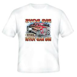 Automotive Transportation T-shirt Big Boys Drive Big Bad Toy
