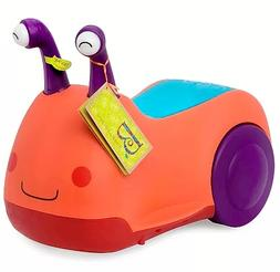 B toys Buggly Wuggly Snail Ride-on Little Toddler Kid Car Sc