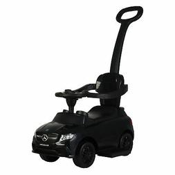 Best Ride On Cars Baby 3-in-1 Mercedes Push Car Stroller wit