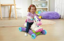 baby interactive learning unicorn toy ride on