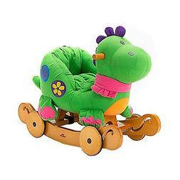 Labebe - Baby Rocking Horse, Dinosaur Ride On Toy, Kid Green