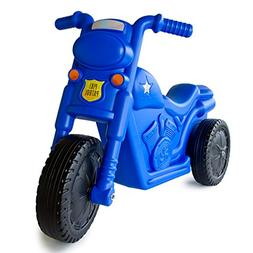 Balance Bike Toddler Ride On Blue Parents Kids Outdoor Wheel