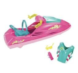 Barbie Camping Fun WATER RIDE & Accessories Wave Runner Jet
