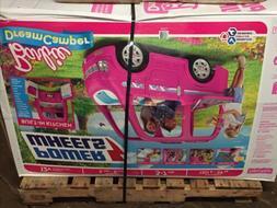 Power Wheels Barbie Dream Camper 12V Battery-Powered Ride-On