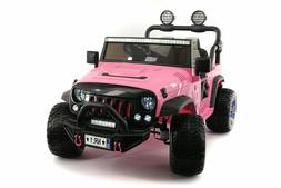 Battery Powered Kids Electric Ride On Car Toy Explorer Two S