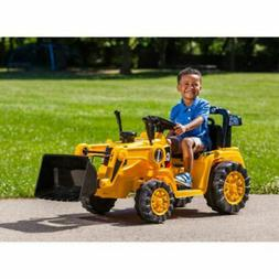 Battery Powered Tractor 6V Toddler Bulldozer Excavate Electr