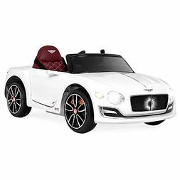 BCP 12V Kids Bentley Ride-On Car w/ Remote Control, 2 Speeds
