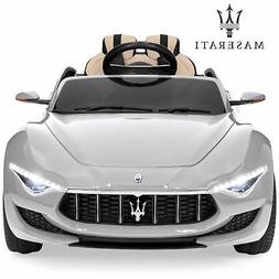 BCP 12V Kids Ride-On Maserati Alfieri Toy w/ 3 Speed Modes,