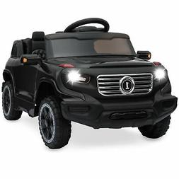 BCP 6V Kids Ride-On Car Truck Toy w/ RC Parent Control, 3 Sp
