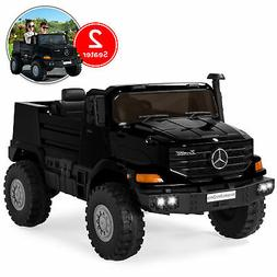 BCP Kids 24V 2-Seater Mercedes-Benz Ride-On Truck w/ 3.7 MPH