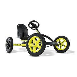 BERG Buddy Cross Kids Pedal Go Kart Ride On Toy w/ Axle Stee