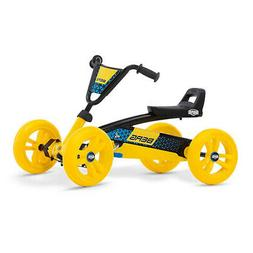 BERG Buzzy BSX Kids Pedal Go Kart Ride On Toy with Axle Stee