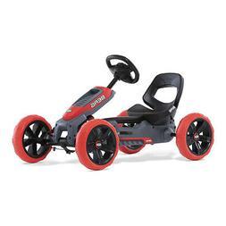 BERG Reppy Rebel Kids Pedal Go Kart Ride On Toy w/ Axle Stee