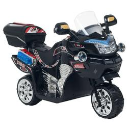 Lil Rider Black Bat FX Motorcycle Battery Operated Tricycle